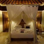 La suite avec une honeymoon touch :-)