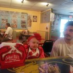 lobster's 1st time @ Crabby Bill's