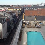5th floor Suite overlooking the French Quarter