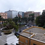 Balcony view of the Piazza Indipendenza