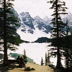 A breathtaking view of Lake Moraine