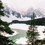 Lake Moraine on a day in May
