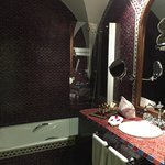 Stunning tile bathrooms- clean and western!