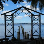 The Edison's dock extended up to 500 feet because of the low Caloosahatchee.