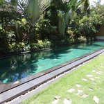 Pool in front of our Villa