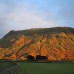 Sunset on Lingmell