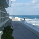 The walk way (Malecon) behind the hotel,  perfect for a morning walk!