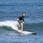 Grom wave riding