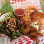 Coconut Shrimp-Garlic Shrimp Combo was Fantastic