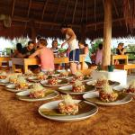 Dining 5 Star up on the Palapa with Ocean View and Cool Breeze