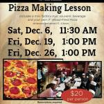Pizza Making Lessons