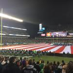 Monday Night Football!  View from Sectio