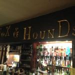 New sign above the bar
