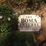 The entrance of The Boma!