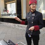 Vanessa the helpful Bellhop