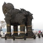 Wooden Horse from the movie Troy