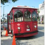 Trolley Tour Stop - A block away