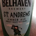 Local Brewery Belhaven Amber Ale