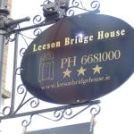 Leeson Bridge Sign