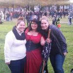 My cousin, Leanne, and I at the Witches Circle 10/31/2014