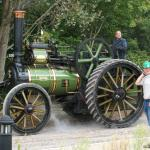 Traction engines on event day