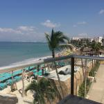 View of Playa de Los Muertos from Penthouse A