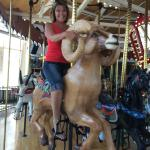 Me on the Carousel