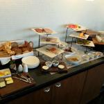 Part of the Concierge Club Lounge breakfast buffet