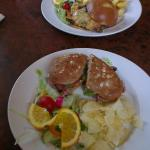 BLT (closest) and chicken and cheese burger :)