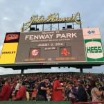 At Fenway for a Red Sox - Yankees game