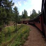 Train from Hill City to Keystone