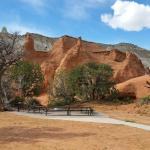 Incredible red rock formations