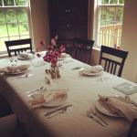 We offer a family style breakfast for larger parties!