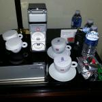 illy coffee station!
