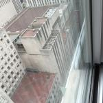 View from corner room on 23rd floor. Radio City Music Hall is on the right (tiny red sign)
