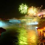 Fireworks start the Festival of Lights in Niagara