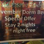 Offer - 3 consecutive nights but it's fake