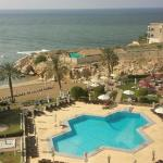 Crowne Plaza Muscat - Pool view
