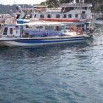 Typical water taxi.