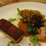 Pork belly and cheeks -  was brilliant.
