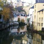 One of many beatiful spots in the old quarter of Luxembourg City