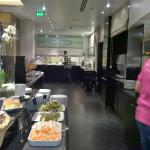 Breakfast buffet at hotel Torni