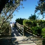 One walkway to beach