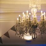 chandellier in dining room