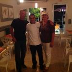 chef Rios will leave you wanting more of his cooking. I wish he was in my home town!,
