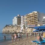view of the canfali from levante beach