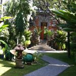 Gardens at the Bali Mandira