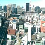 View from 22nd Floor on Ginza side