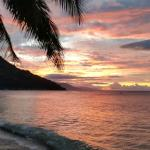 Sunset at Aninuan Beach Resort Foto