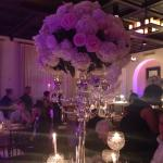 Gorgeous centerpiece at wedding